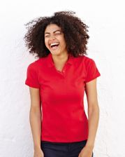 63212 Fruit Of The Loom Lady Fit 65/35 Polo Shirt